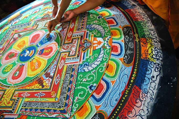 Tibetan Mandala Symbols