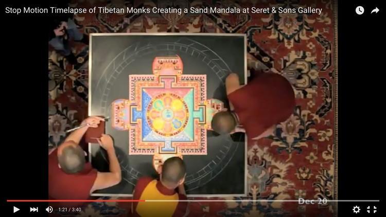 Tibetan Mandala video