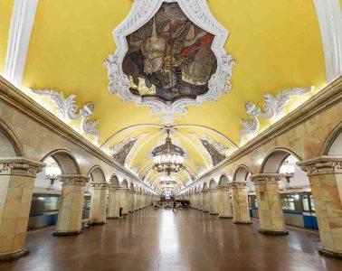 Moscow Metro Art by Zayah World