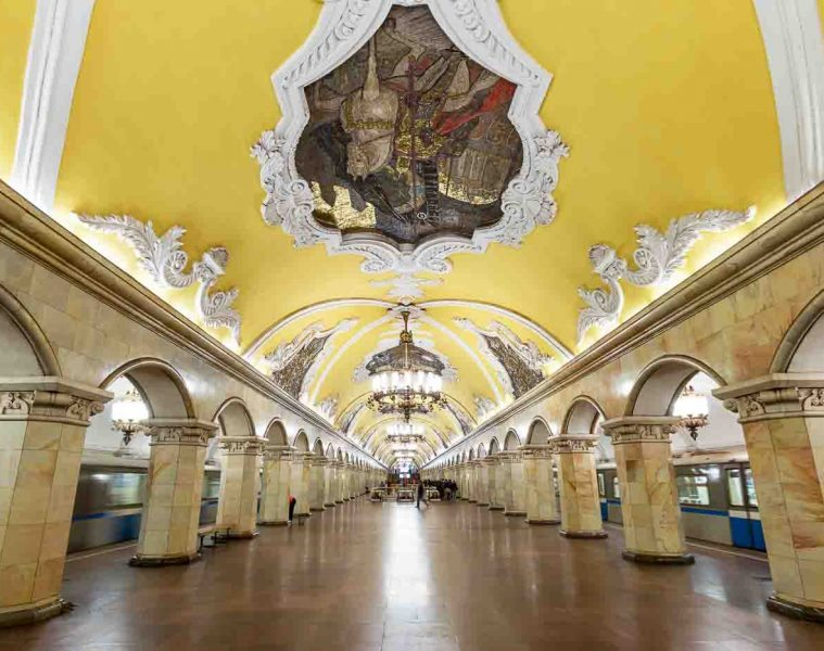 Moscow Metro Art by Zayah World