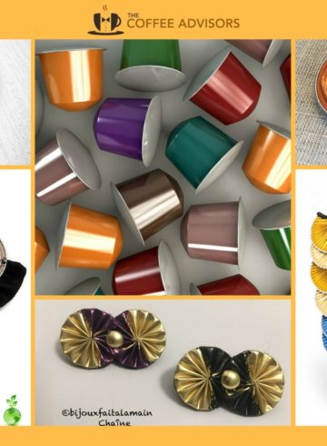 Nespresso recycling - coffee pod jewellery