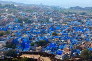Colourful Cities by Zayah World - Jodhpur in Rajasthan, India