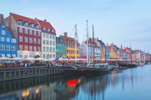 Colourful Cities by Zayah World - Nyhavn, Denmark