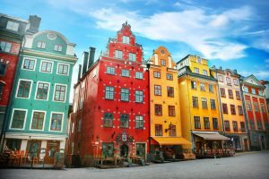 Colourful Cities by Zayah World - Stortorget Place, Gamla Stan - Stockholm, Sweden