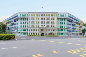 Colourful Cities by Zayah World - Old Hill Street Police Station, Singapore