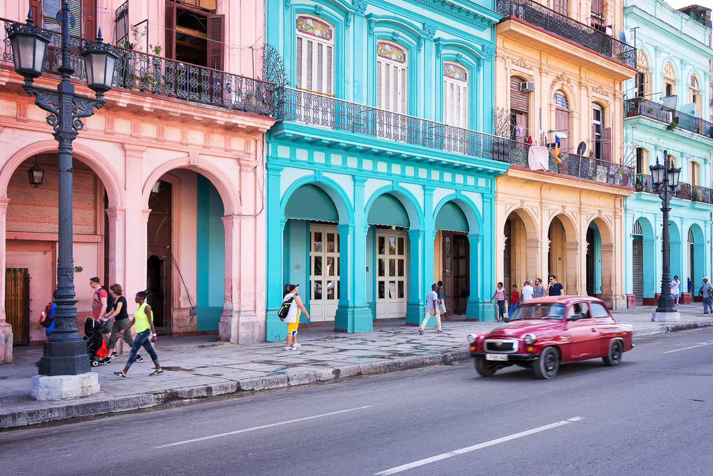 Colourful Cities by Zayah World - Havana, Cuba