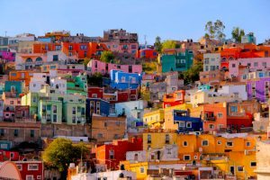 Colourful Cities by Zayah World - Guanajuato City