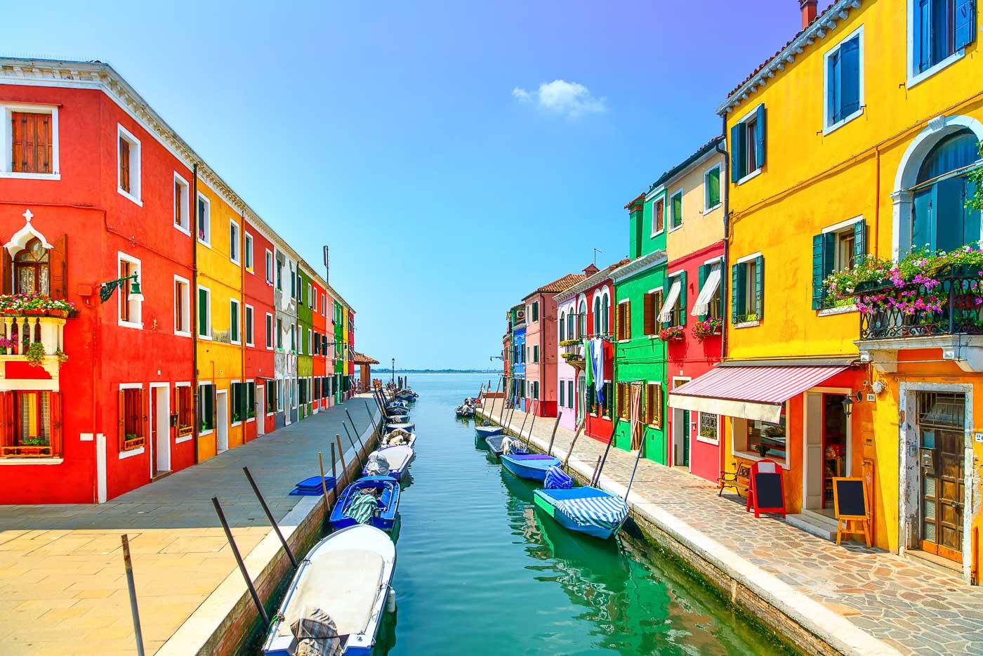 Colourful Cities by Zayah World - Burano, Italy