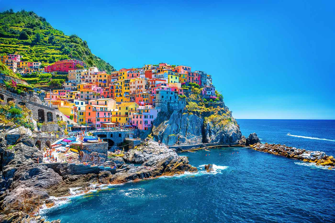 Colourful Cities by Zayah World - Cinque Terre, Italy