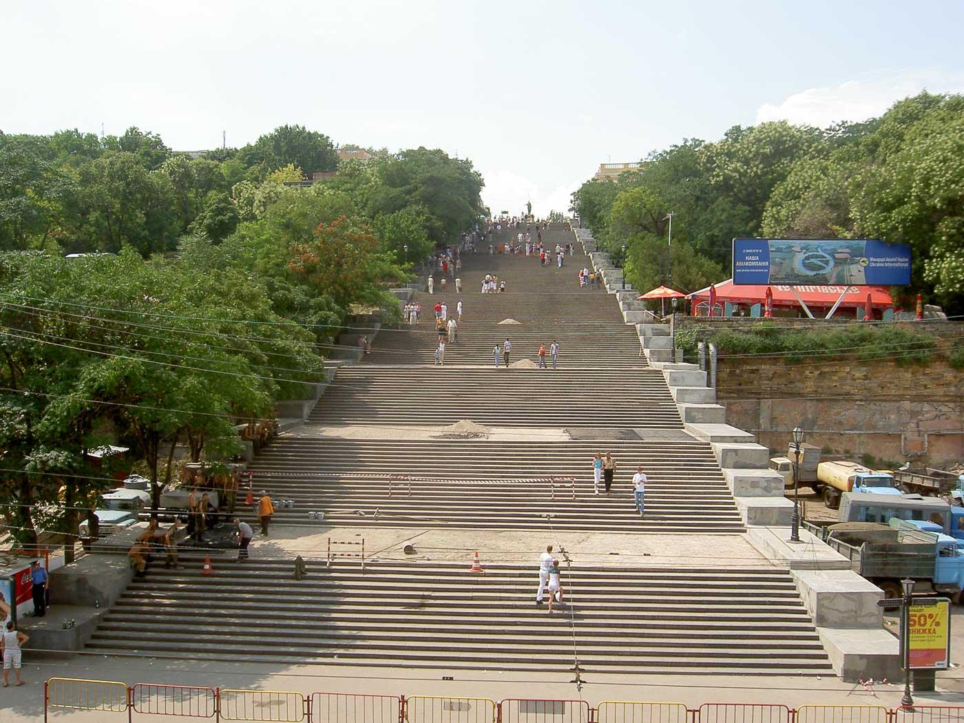 Memorable Staircase Designs - Potemkin Stairs, Odessa, Ukraine