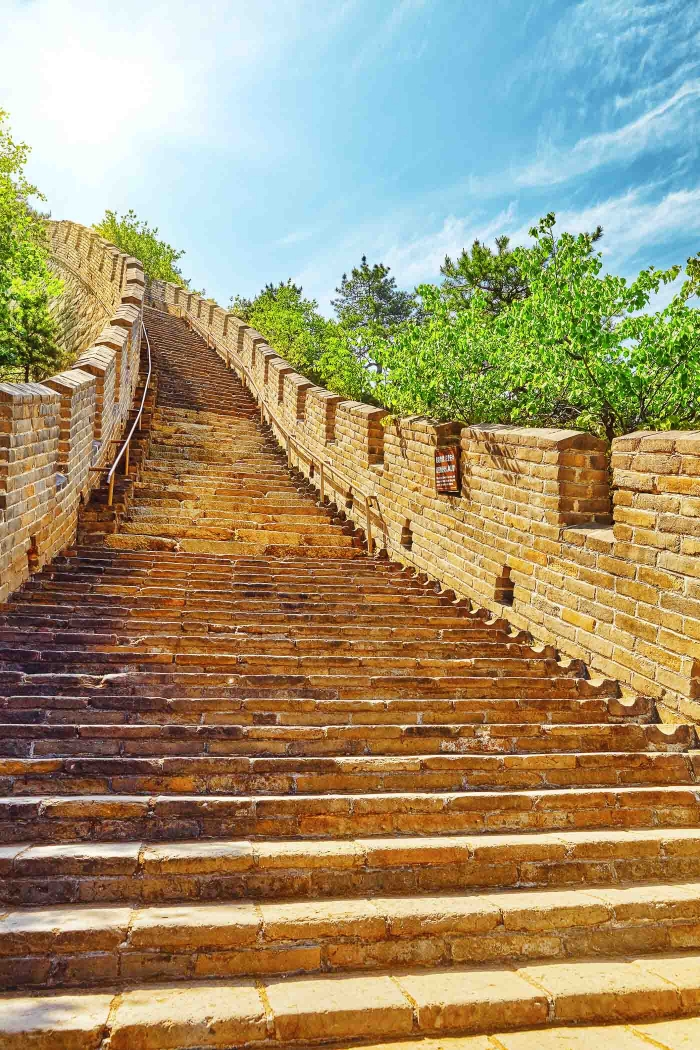 Memorable Staircase Designs - Great Wall of China