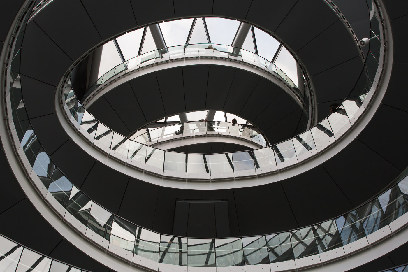 Memorable Staircase Designs - City Hall, London