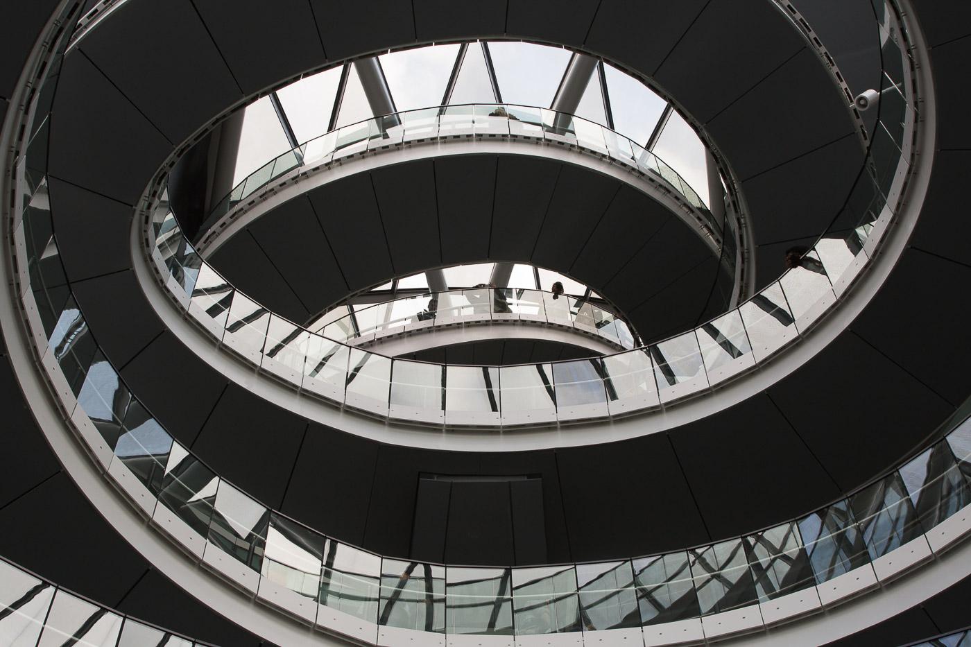 Memorable Staircase Designs - City Hall, London