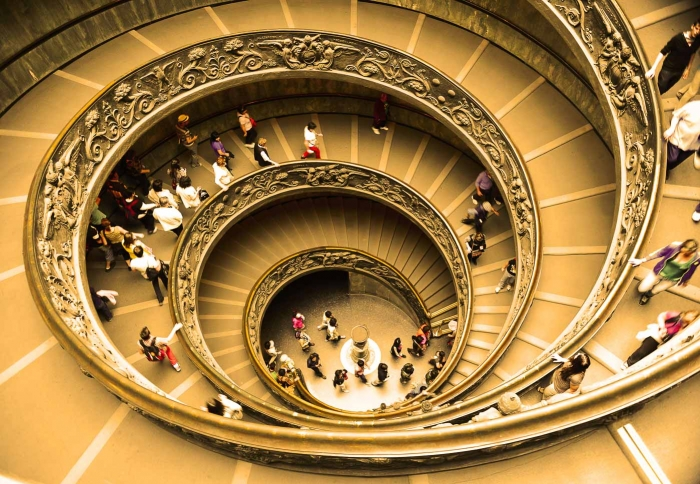 Memorable Staircase Designs - Bramante Staircase, Vatican City
