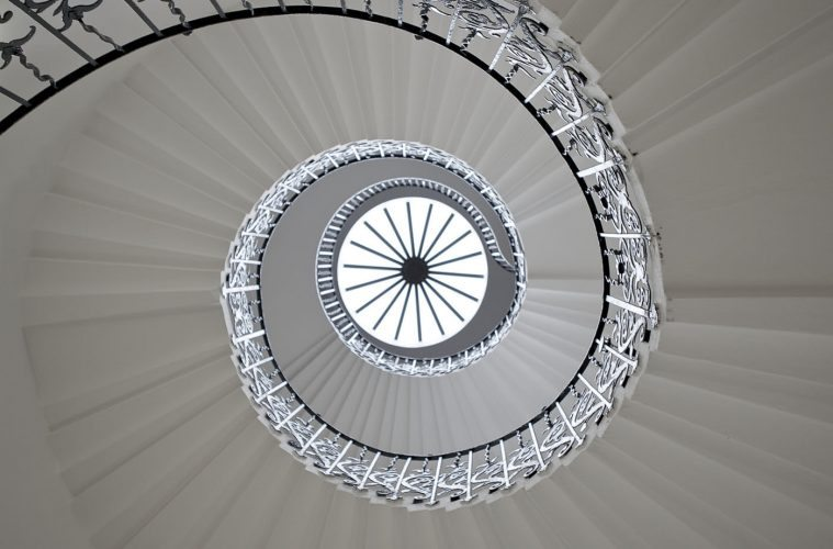 Staircase design - Tulip Stairs, Queen's House, Greenwich, UK