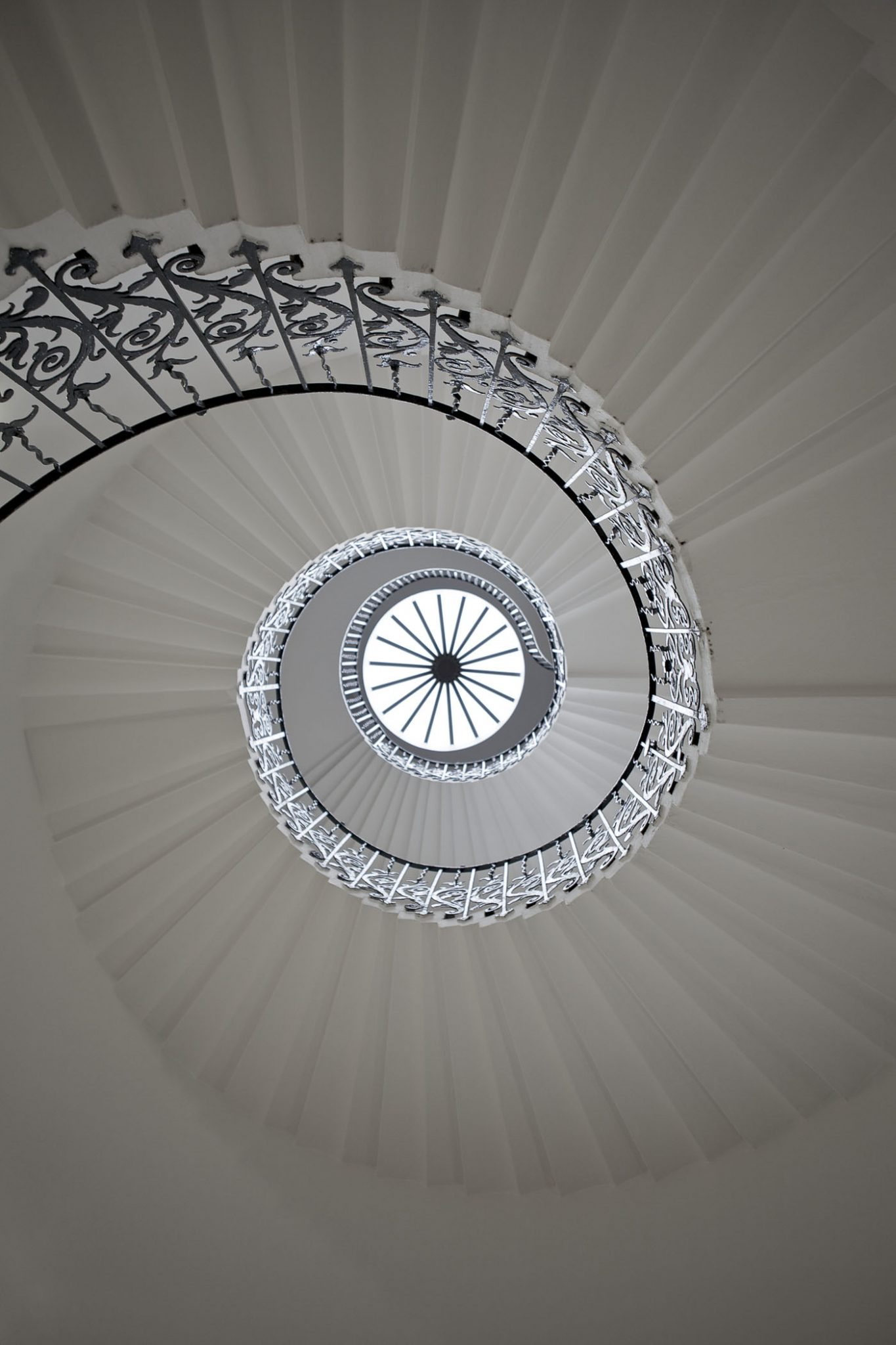 Memorable Staircase Designs - Tulip Stairs, Queen's House, Greenwich, UK