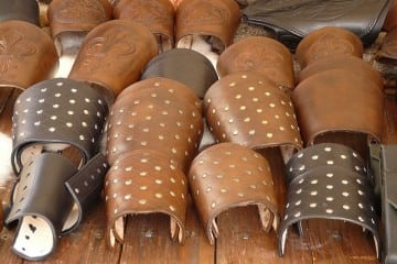 Leather jewellery- cuffs