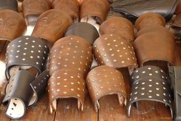 Leather jewellery- cuffs
