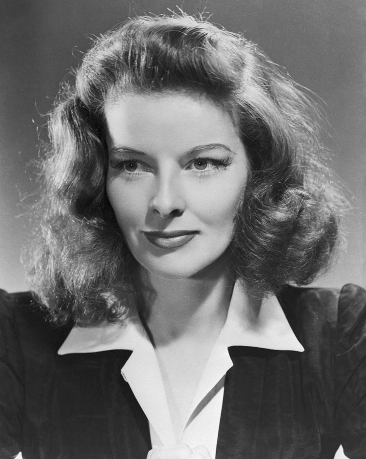 The one and only Katharine Hepburn
